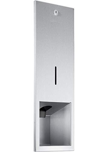 Wagner-EWAR Seifenspender 950ml WP208 Edelstahl für Unterputzmontage, Variante:Edelstahl matt