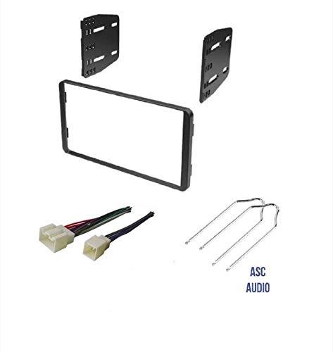 amazon com asc car stereo radio install dash kit, wire conterra radio harness radio wiring harness kits #4