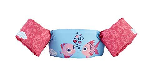 Stearns Original Puddle Jumper Kids Life Jacket | Life Vest for Children, Coral Fish