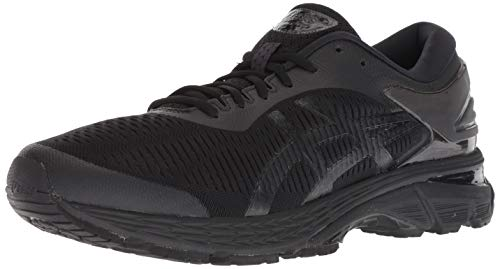 ASICS Men's Gel-Kayano 25 Running Shoes, 10.5M, Black/Black