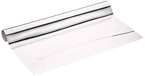 Wenko 5108013500 - Lámina recortable, de plástico, Plateado, 58 x 150 cm
