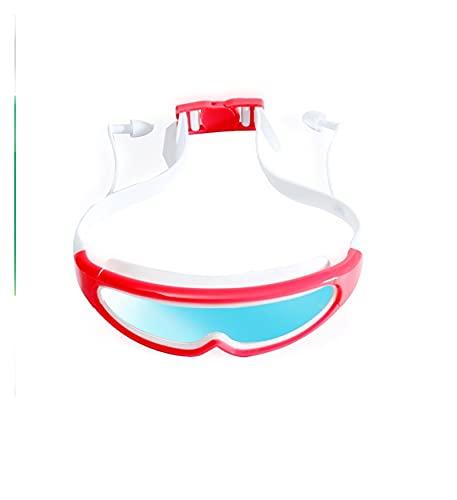 Niños Natación Gafas Profesionales Chicos Y Niñas Marco Anti-Niebla Niños Piscina Mascarilla Agua Nadar Eyewear Gafas De Silicona (Color : Pink)