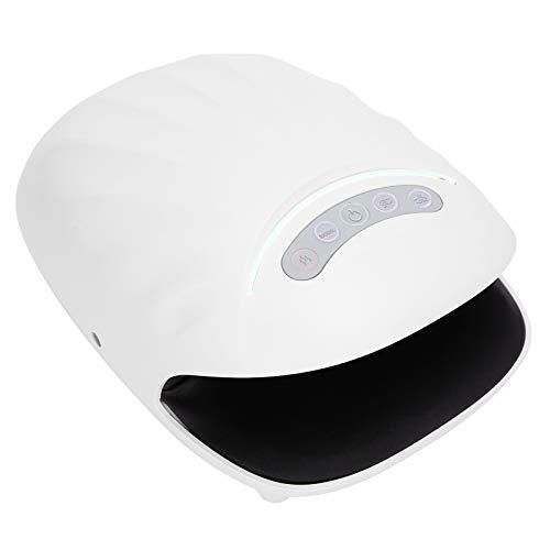 Masajeador de mano, máquina masajeadora de mano con rodillo para alivio de la descompresión de articulaciones, compresor caliente eléctrico, rodillo de presión de aire para el cuidado de la palma(EU)