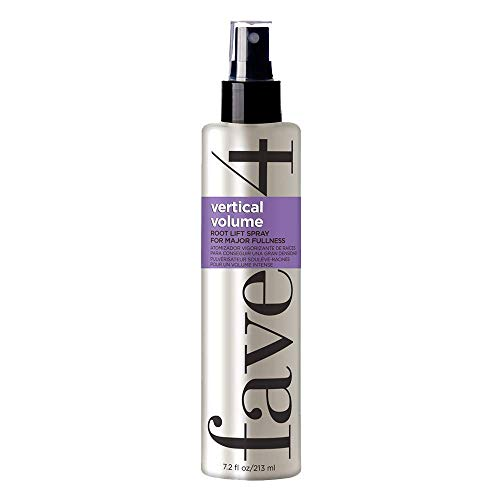 fave4 hair Vertical Volume Root Lifting Spray for All Day Fullness, Add Strength & Shine, 7.2 oz