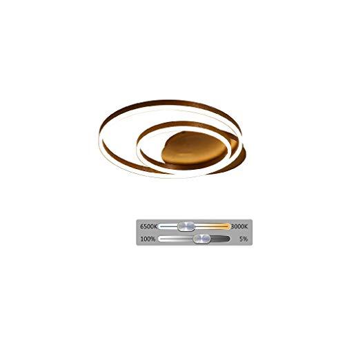 SPNEC Creativa de la lámpara de Techo Dormitorio Luz Elegante del diseño Moderno de la lámpara de Techo Panel de acrílico único Minimalista Sala de Control de Luz Comedor Cocina