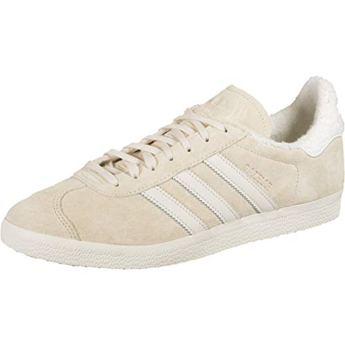 adidas Gazelle, Zapatillas para Hombre, Ecru Tint S18/Chalk White/FTWR White, 40 2/3 EU