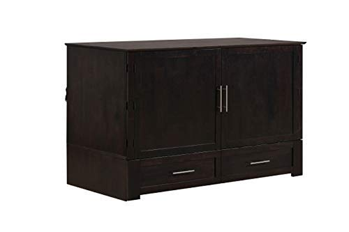 Emurphybed Daily Delight Murphy Cabinet Chest Bed...