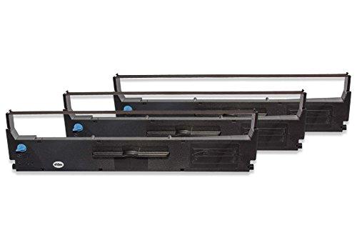 vhbw 10x Cintas de Tinta mecanogr/áfica de Nailon para Impresora matricial//Agujas Amano Pix 6000