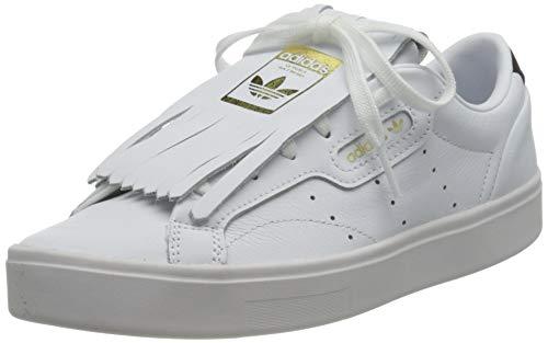 adidas Sleek W, Zapatillas Deportivas Mujer, FTWR White Core Black Crystal White, 44 EU