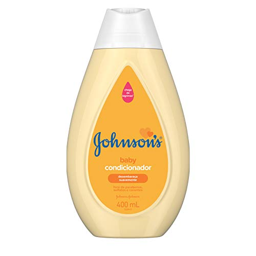 Condicionador Infantil Johnson's Baby Regular 400 ml