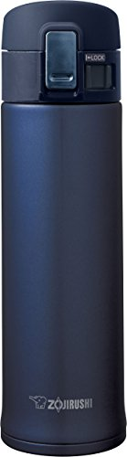 Zojirushi SM-KHE48AG Stainless Steel Mug, 16oz, Smoky Blue