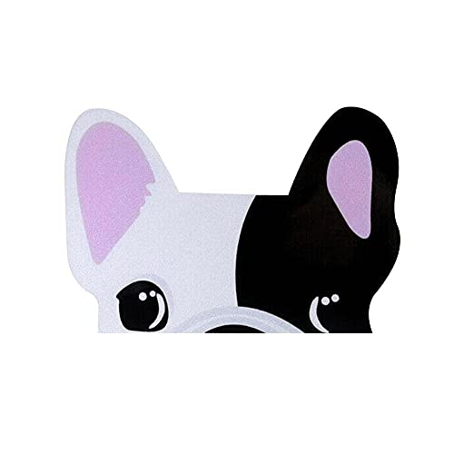 PET French Bulldog Car Sticker Decal Gifts, Notebook Stickers,2.76 × 4.33inch (Pink,Black,Brown)