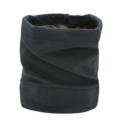 Outfly Multifonctionnel Sports Bandana Headwrap Bandeaux Cou Gaiter Foulards Tissu thermique mince, 4 couleurs, gris