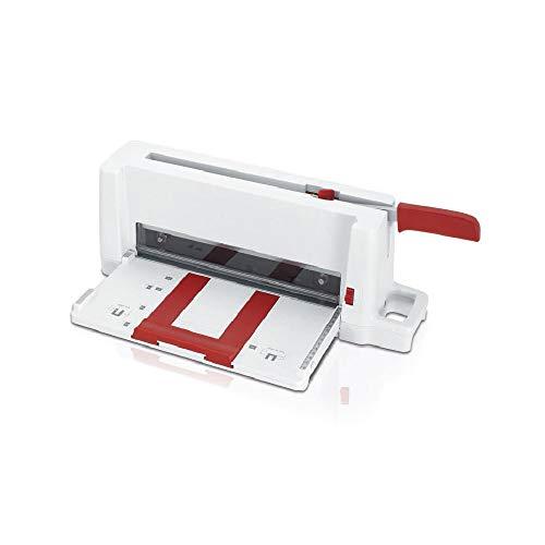 IDEAL 3005 Schneidemaschine, Büro-Stapelschneider, für kleine Formate bis DIN A4 (Schnittlänge 300 mm, 60 Blatt Kapazität), 30050000