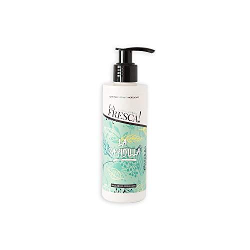 Mascarilla hidratante prelavado La Rapidilla para el cabello seco y dañado con extractos ecológicos, naturales y veganos - 200ml