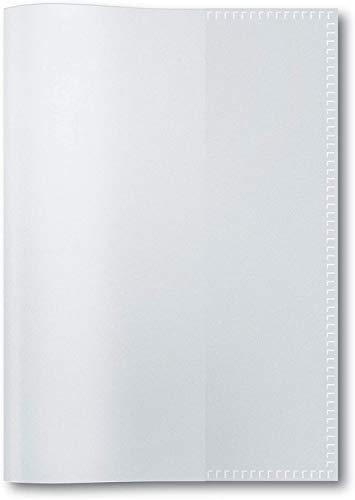 perfect line 15 Heft-Umschläge DIN-A6 EXTRA STARK, Glas-klar & transparent, Heft-Hüllen flexibel & abwischbar, Schutz-Hülle für Vokabel-, Schreib-Heft, Ausweis-Dokumente & Unterlagen