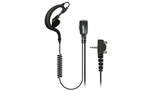 NAUZER PIN-29-Y2 Pinganillo Profesional Micro-Auricular para Walkie Talkie YAESU VX-146 / VX-246...