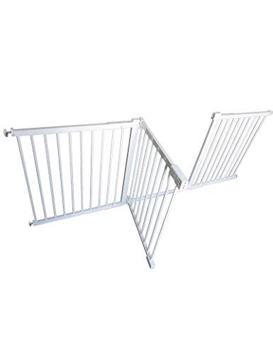 WYSFHL Barrières de sécurité Extra-Large, Safety First Everywhere Gate, Fit de Pression, Pas de perçage Barrière de sécurité, Barrière de sécurité Portable, Convient for 87 à 96cm