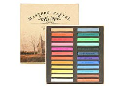 [Same Day Shipment] [All 24 Colors Set] Masters Pastel 24 Color Set Color Chalk Pastel Chalk [Limited time,, Sale Sale] (Japan Import)