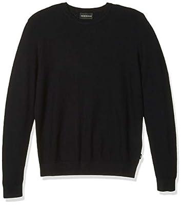 Emporio Armani Men's Sweater, Navy, Large by Emporio Armani
