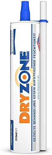 Dryzone 310 ml - cartuccia da 310ml. Gel impermeabilizzante a iniezione per bloccare l'umidità di risalita. (1 x 310 ml)