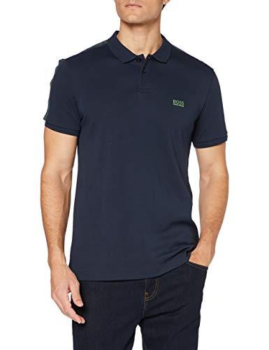 BOSS Paule Icon Camisa Polo, Azul Marino (410), M para Hombre