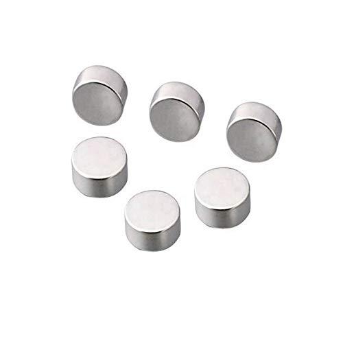 Marwotec® | 10 Stück Neodym Magnete Scheibe 12x5 mm | Ultra Starke Magnete | Starker Dauermagnet Permanentmagnet Bastelmagnet Haftmagnet Scheibenmagnet