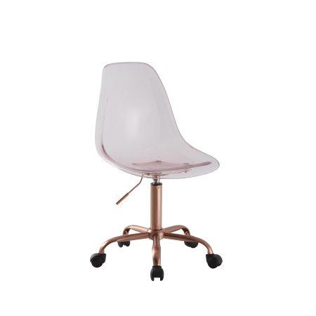 Mainstays Acrylic Rolling Desk/Task Chair (Lantana)