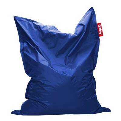 Fatboy® Original Petrol Nylon-Sitzsack| Klassischer Indoor Beanbag, Sitzkissen | 180 x 140 cm