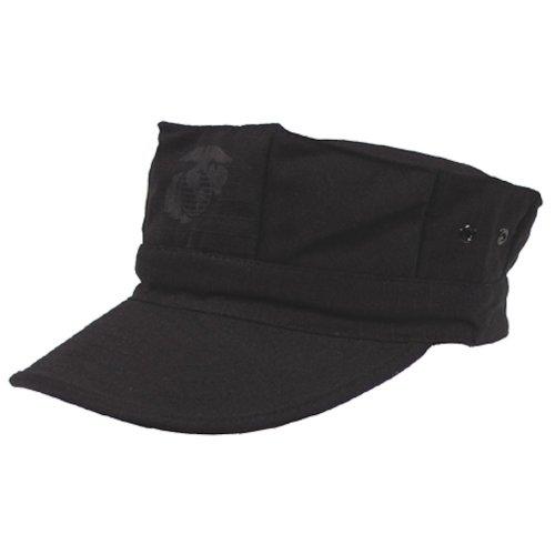 Gorra de estilo marine americano, hombre, color negro - negro, tamaño S