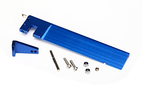 Traxxas 5779Hintergrund Blue-Anodized Aluminium Ruder, 127,5mm