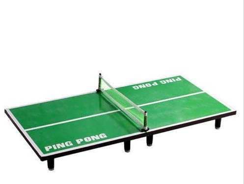 Best Review Of nobrand Mini Table Tennis Pingpong Table Net Paddle Ball Set Sports Outdoor Indoor