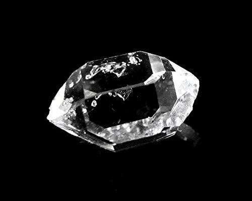 MKöpke® - Herkimer Diamant - Bergkristall für Edelsteinwasser Doppelender - Einzelkristall | Gr. S