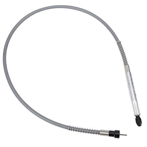 Con mango cómodo de fácil instalación, taladro de aluminio con eje flexible de 3,2 mm, adaptador de eje flexible para lijadora eléctrica para taladro eléctrico.