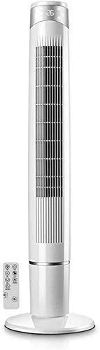 Ventilador de Torre de 3 Pisos portátil, con Control Remoto Tres Tipos de Modo de soplado Temporizador de 12 Horas Funcionamiento silencioso 55W
