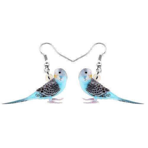Dames Oorbellen Acryl Zoete Parkiet Oorbellen Hanger Vogel En Beest Sieraden