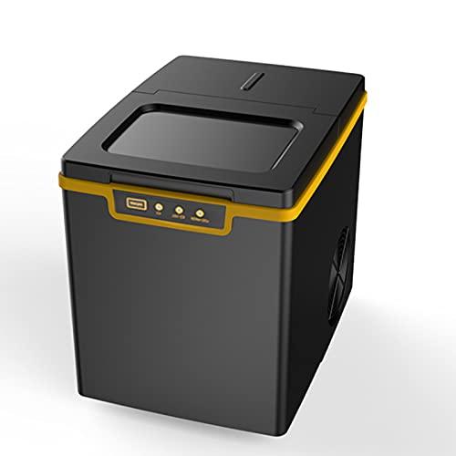Máquina de fabricante de hielo en contador con autolimpieza, 26 libras / 24 horas compacta de hielo automático, perfecto para el hogar/cocina/oficina/bar