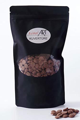 Schokolade Callebaut Callets Vollmilch Kuvertüre 1 kg, feinste Konditor-, Backschokolade
