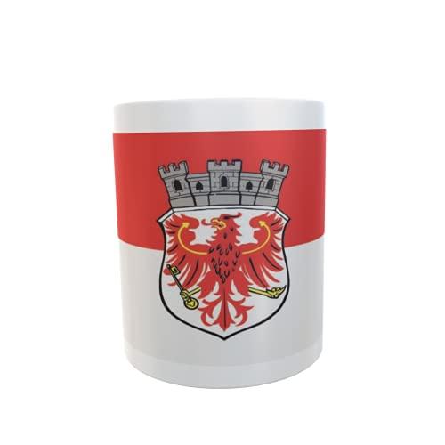 U24 Tasse Kaffeebecher Mug Cup Flagge Beelitz