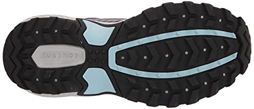 Saucony Women's Excursion TR15 Trail Running Shoe, Alloy/Mauve, 8