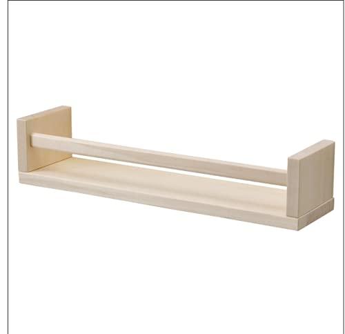 IKEA BEKVAM Gewürzregal Aspen Bücherregal Fotoregal Wandregal