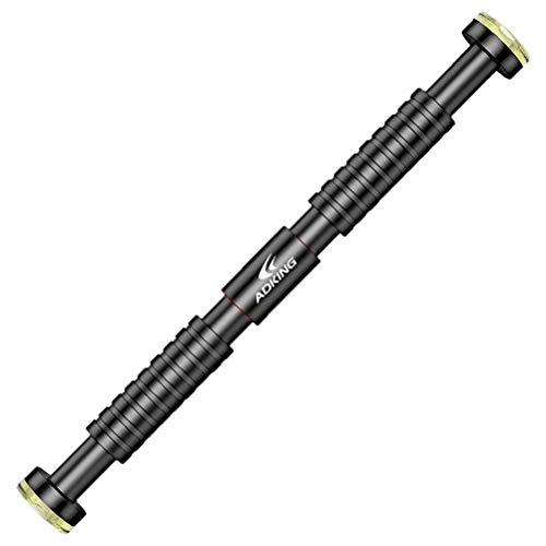 Pull Up Bar Verstellbare Klimmzugstange für Türrahmen Bauchtrainer Schrauben erforderlich Griffige Oberfläche sicherer Halt 65cm-130cm