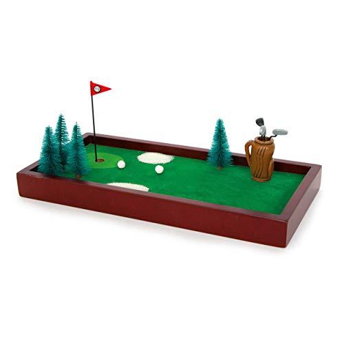 Mini Table Bureau Golf Course Exécutif Jouet Jeu Golfeurs Cadeau De Noël
