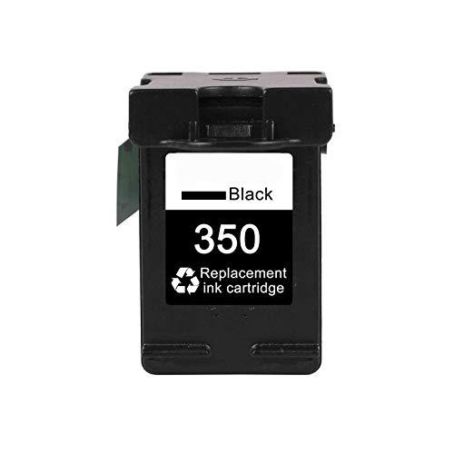 CMDZSW Reemplazo del Cartucho 350XL 351XL para HP 350351 HP350 D4200 C4480 C4580 C4380 C4400 C4580 C5280 C5200 C5240 Impresora (Color : 350XL)