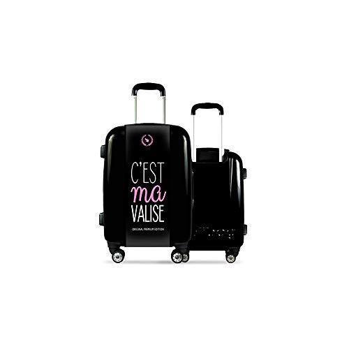 Valise CALIBAG (Format Cabine) C'est ma ! Original Pink...