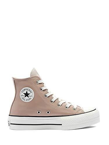 Converse Chuck Taylor All Star, Zapatillas de Paseo. para Mujer, Blanco y Negro, 39 EU