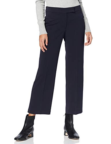 Marchio Amazon - find. Pantaloni Gamba Larga Donna, Blu (navy), 52, Label: 3XL