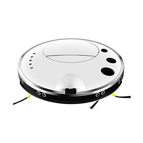 Buy Auto Self-Charging Robotic Vacuum Cleaner Super Quiet 1200Pa Strong Suction,Auto Recharging, Rob...