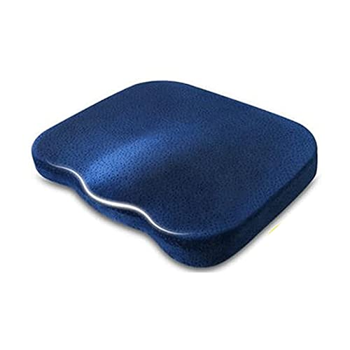 WGLL Desk Chair Cushion - Padded Cushions for Travel, Wheelchairs, Office, Stadium & Driver Seat of Car or Truck