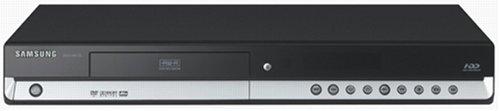 Samsung DVD HR 735 DVD- und Festplatten-Rekorder 160 GB (DivX-Zertifiziert) HDMI schwarz/Silber